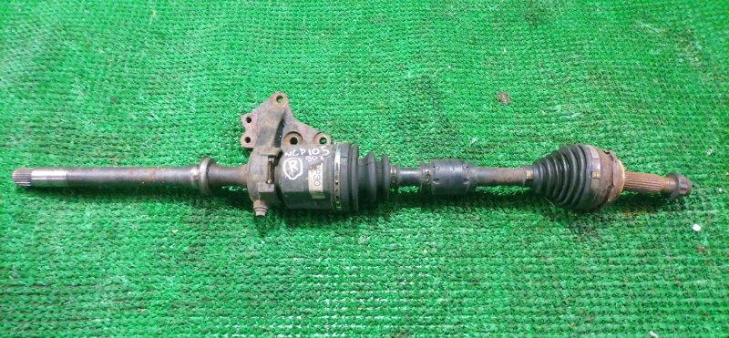 Привод Toyota Ractis NCP105 1NZ-FE передний правый (б/у)