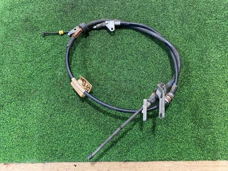 Тросик ручника Toyota Caldina ST215 левый (б/у)