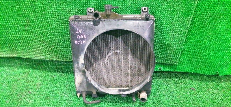 Радиатор Mitsubishi Pajero Junior H57A 4A31 (б/у)
