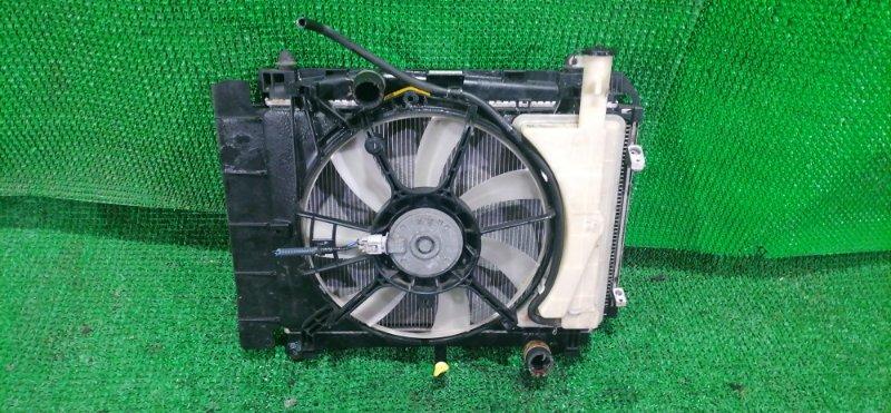Радиатор Toyota Ractis NCP125 1NZ (б/у)