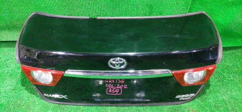 Крышка багажника Toyota Mark X GRX135 4GR-ESE 2011 (б/у)