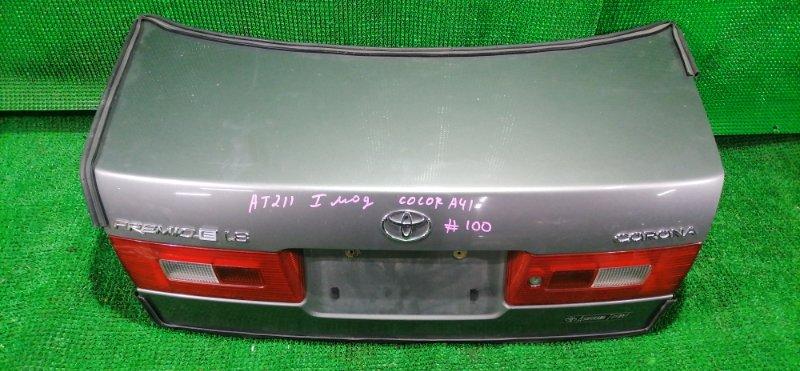 Крышка багажника Toyota Premio AT211 (б/у)