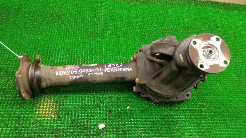 Редуктор Toyota Hiace KDH205 2KD-FTV передний (б/у)