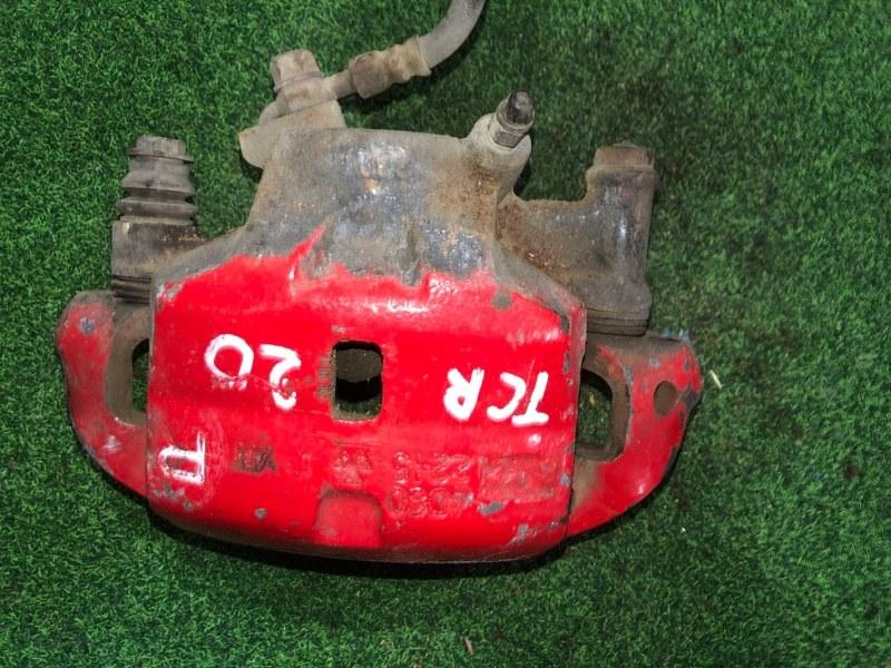 Суппорт Toyota Estima TCR20 передний правый (б/у)