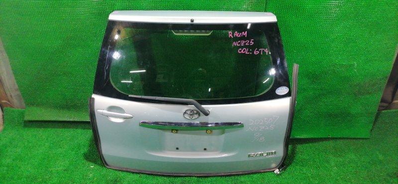 Дверь 5-я Toyota Raum NCZ25 (б/у)