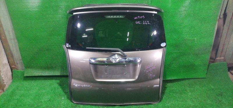 Дверь 5-я Toyota Ractis NCP105 (б/у)