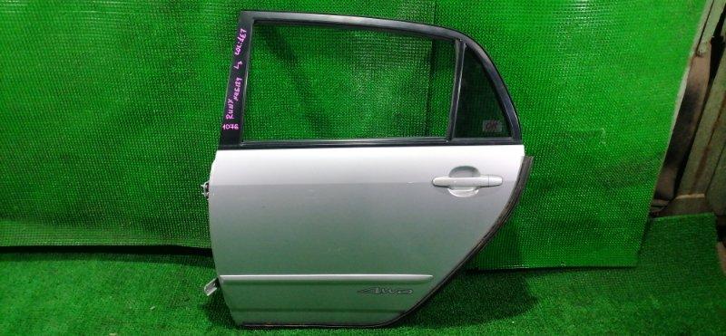 Дверь Toyota Runx NZE124 задняя левая (б/у)