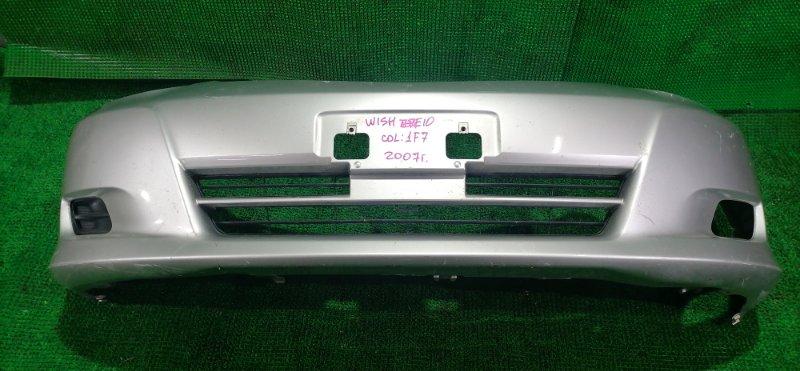 Бампер Toyota Wish ZNE10 2007 передний (б/у)