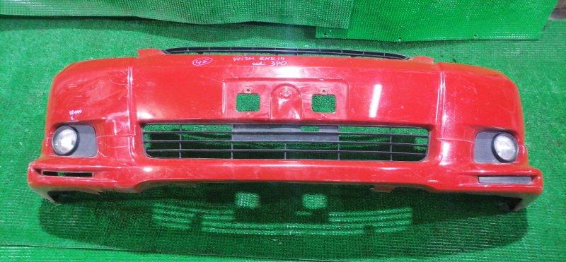Бампер Toyota Wish ZNE14 передний (б/у)