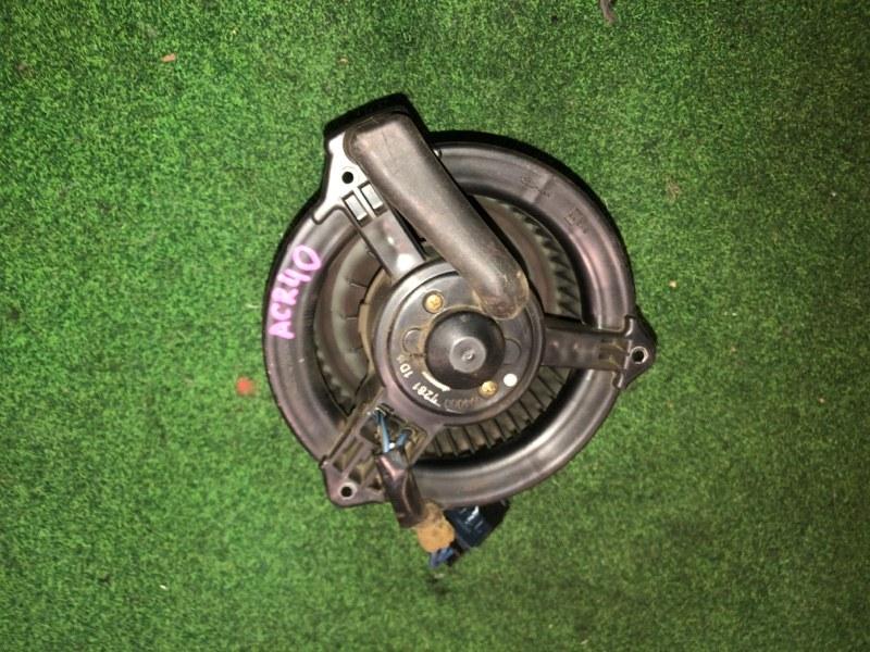 Мотор печки Toyota Estima ACR40 (б/у)