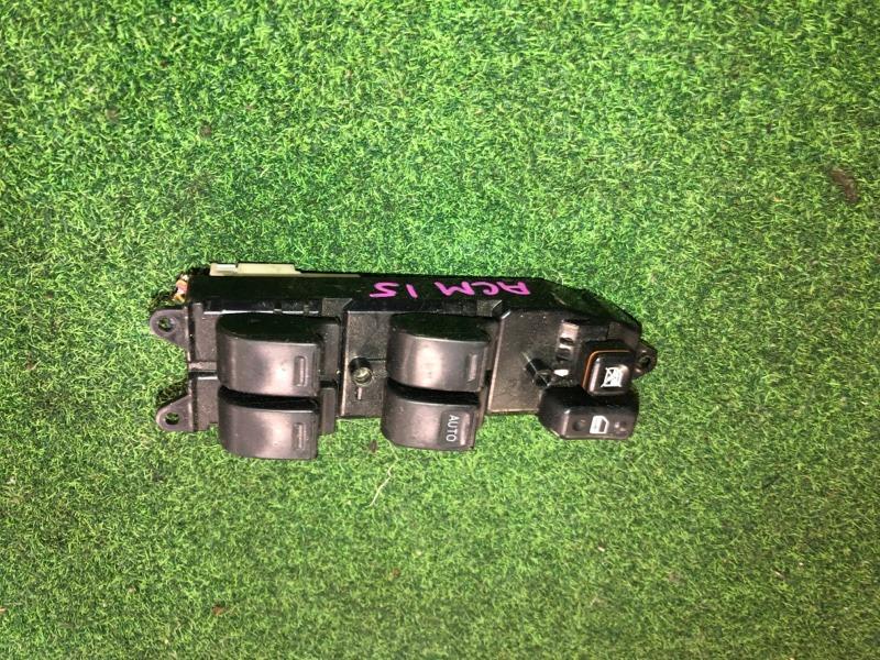 Пульт стеклоподъемника Toyota Gaia ACM15 передний правый (б/у)