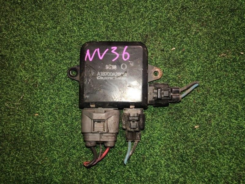 Блок управления вентиляторами Nissan Skyline NV36 (б/у)