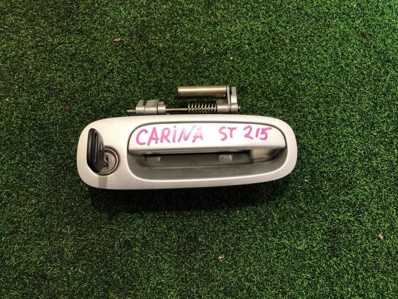 Ручка двери внешняя Toyota Carina ST215 передняя правая (б/у)