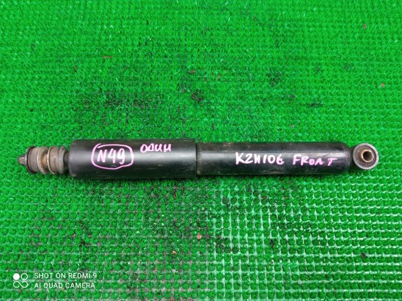 Амортизатор Toyota Hiace KZN106 передний (б/у)
