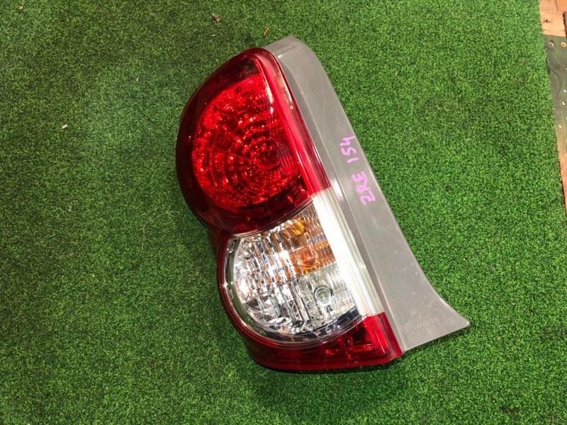 Стоп сигнал Toyota Corolla Rumion ZRE154 левый (б/у)