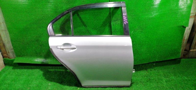 Дверь Toyota Corolla Axio NZE164 1NZ-FE 2013 задняя правая (б/у)