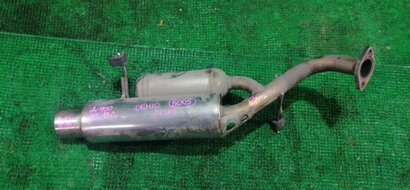 Бочка глушителя Mazda Demio DE3FS (б/у)