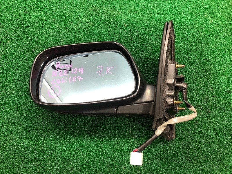 Зеркало Toyota Runx NZE124 левое (б/у)