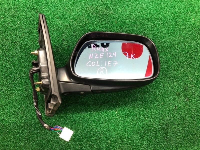 Зеркало Toyota Runx NZE124 правое (б/у)