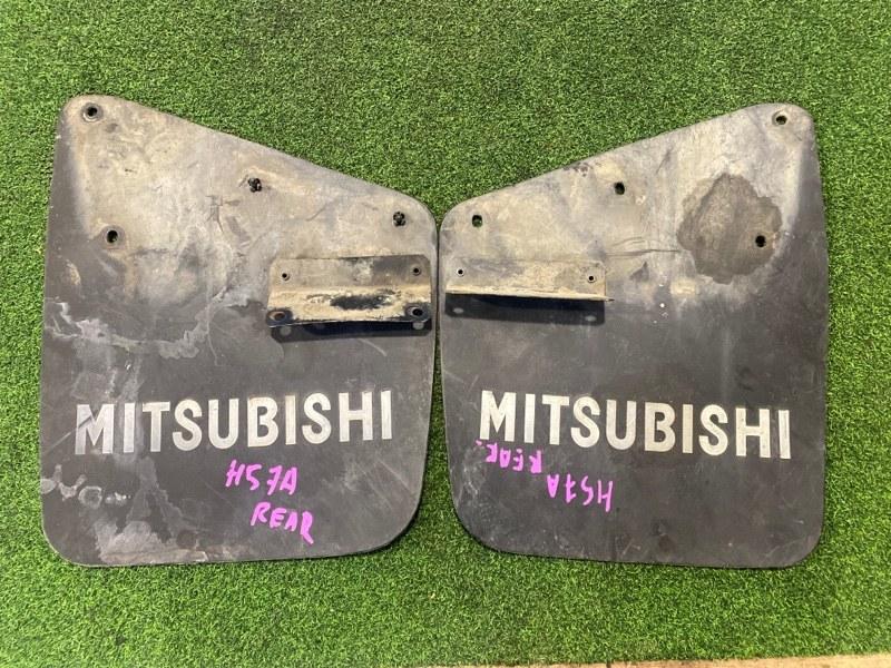 Брызговик Mitsubishi Pajero Junior H57A 4A31 задний (б/у)