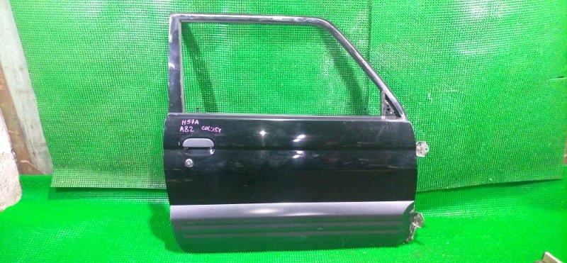 Дверь Mitsubishi Pajero Junior H57A 4A31 1997 передняя правая (б/у)
