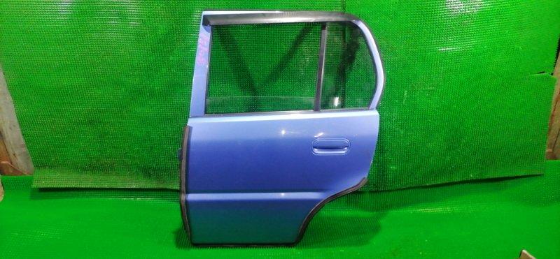 Дверь Honda Logo GA3 задняя левая (б/у)