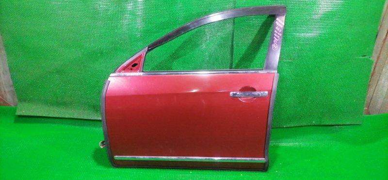 Дверь Nissan Bluebird Sylphy NG11 передняя левая (б/у)