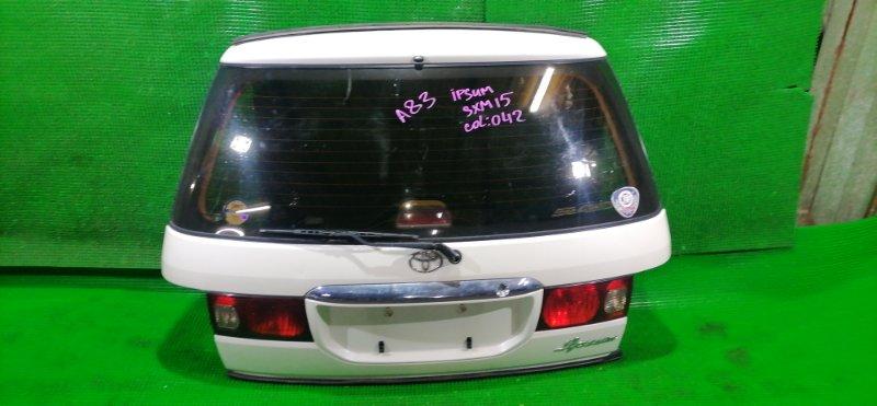 Дверь 5-я Toyota Ipsum SXM15 3S-FE 1999 (б/у)