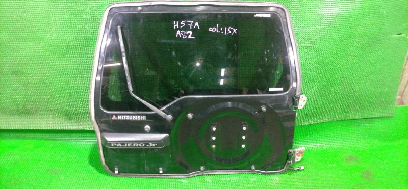 Дверь 5-я Mitsubishi Pajero Junior H57A 4A31 1997 (б/у)