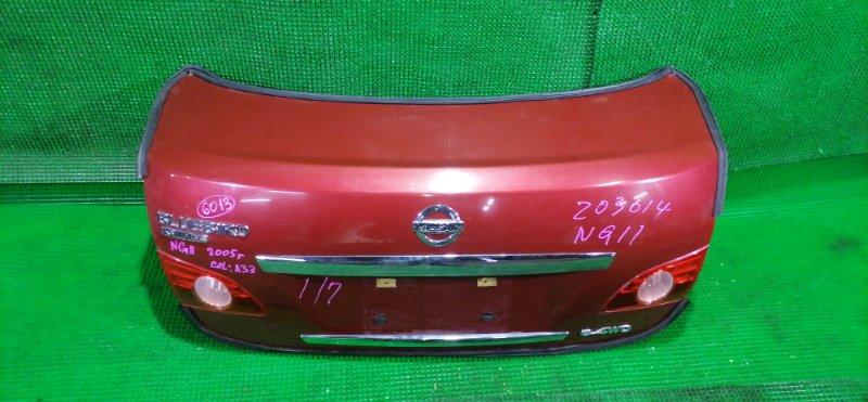Крышка багажника Nissan Bluebird Sylphy NG11 (б/у)