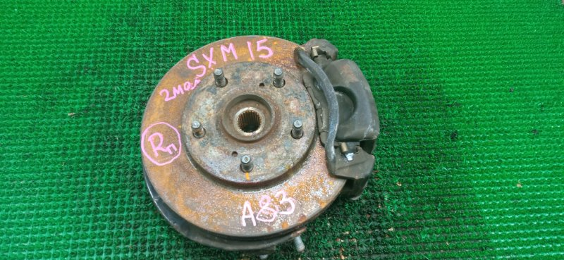 Ступица Toyota Ipsum SXM15 3S-FE 1999 передняя правая (б/у)