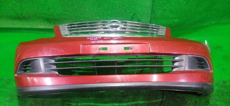 Бампер Nissan Bluebird Sylphy NG11 2005 передний (б/у)