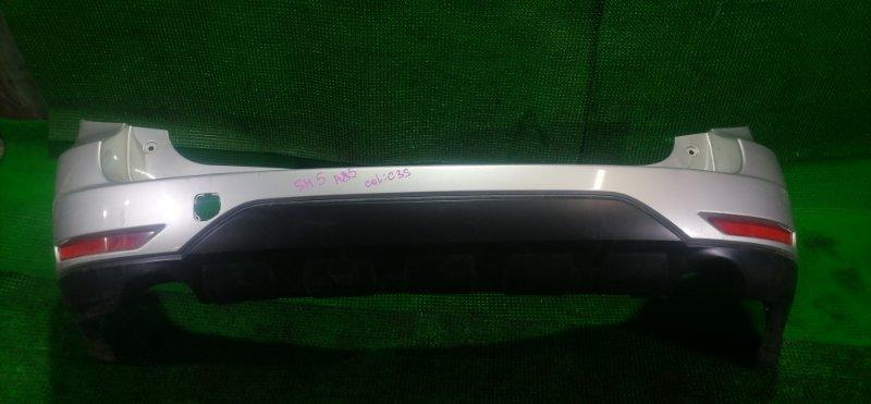 Бампер Subaru Forester SH5 EJ204 2008 задний (б/у)