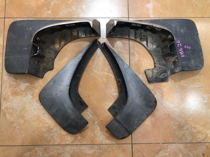 Брызговики комплект Isuzu Bighorn UBS26 6VE1 2000 (б/у)