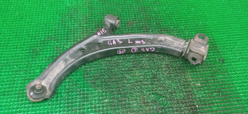 Рычаг Honda Logo GA3 D13B передний левый нижний (б/у)