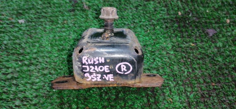 Подушка двигателя Toyota Rush J210E 3SZ-VE правая (б/у)