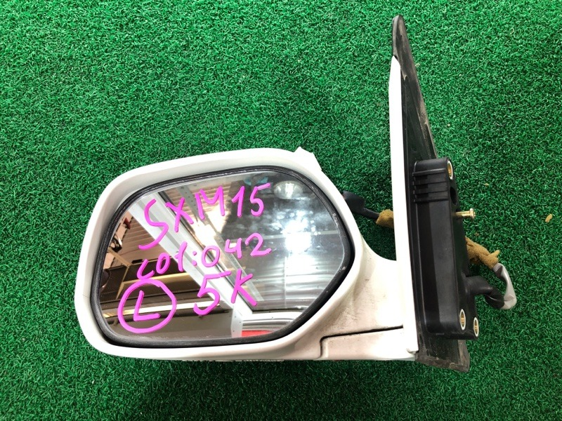 Зеркало Toyota Ipsum SXM15 левое (б/у)