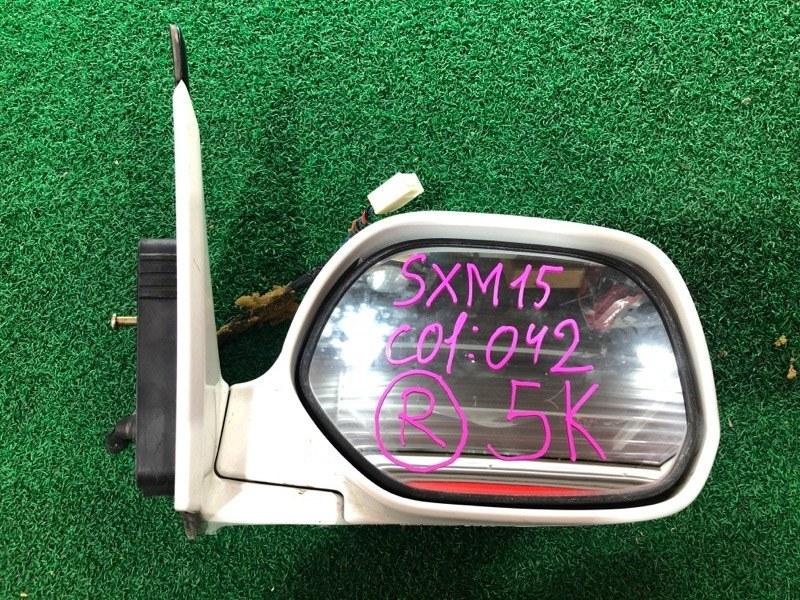 Зеркало Toyota Ipsum SXM15 правое (б/у)