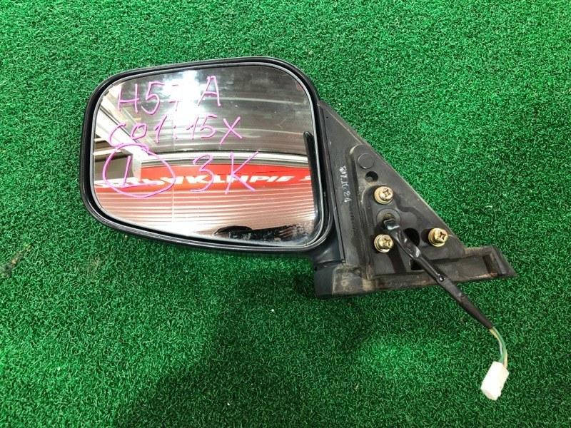 Зеркало Mitsubishi Pajero Mini H57A левое (б/у)