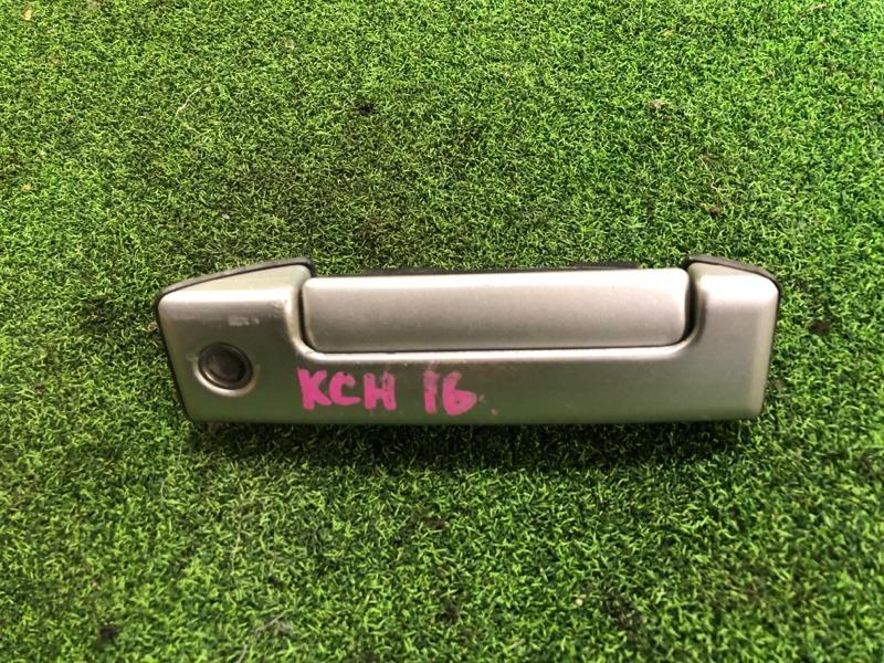 Ручка двери внешняя Toyota Granvia KCH16 задняя левая (б/у)