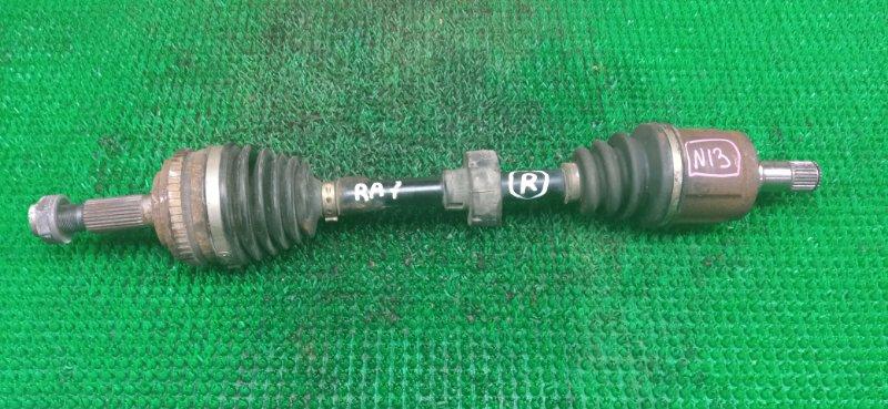 Привод Honda Odyssey RA7 F23A 2002 передний правый (б/у)