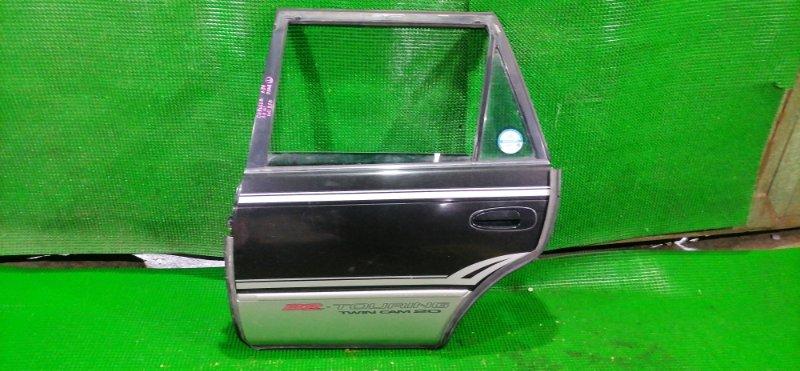 Дверь Toyota Corolla AE101 4A-GE 1996 задняя левая (б/у)