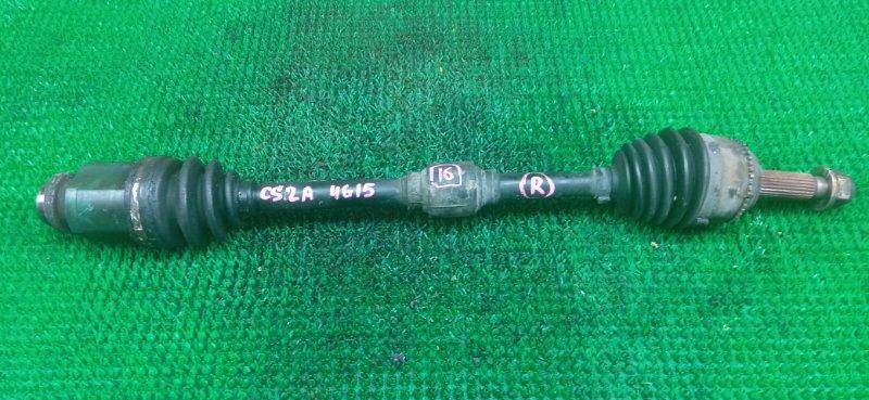 Привод Mitsubishi Lancer Cedia CS2A 4G15 2001 передний правый (б/у)