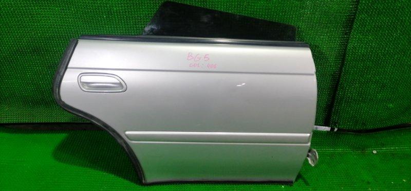 Дверь Subaru Legacy BG5 задняя правая (б/у)