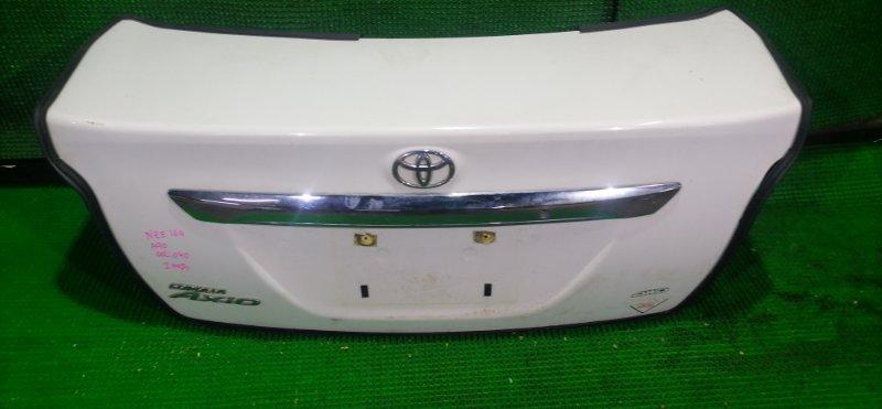 Крышка багажника Toyota Corolla Axio NZE164 1NZ-FE 2013 (б/у)
