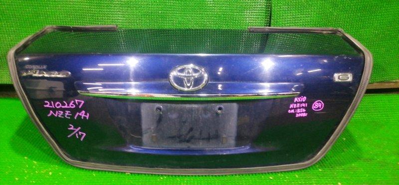 Крышка багажника Toyota Corolla Axio NZE141 2008 (б/у)