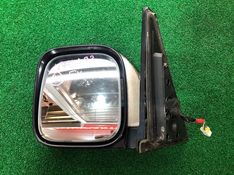 Зеркало Mitsubishi Pajero V75 левое (б/у)