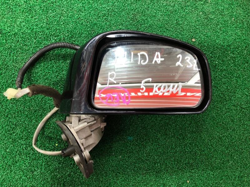 Зеркало Nissan Tiida C11 правое (б/у)