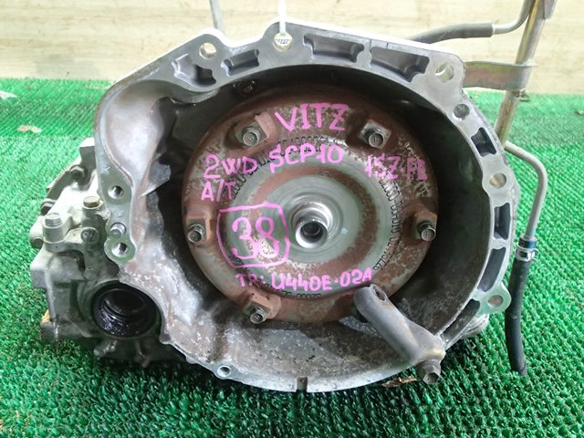Акпп Toyota Vitz SCP10 1SZ-FE 2004 (б/у)