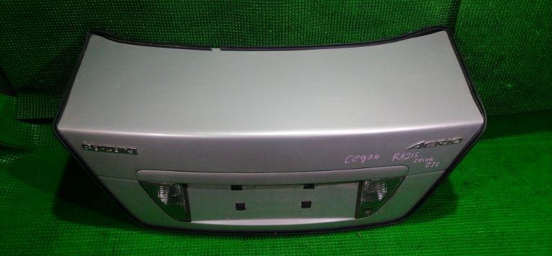 Крышка багажника Suzuki Aerio RA21S (б/у)